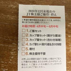 JTより株主優待キタ━━━━(゚∀゚)━━━━!!