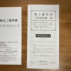 トリドールHDから株主優待券キタ━━━━(゚∀゚)━━━━!!