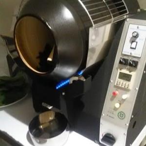 えごま葉製茶・やっと焙煎機が届きました!