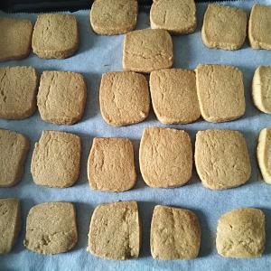 【簡単!卵不使用】保育園のきなこクッキー