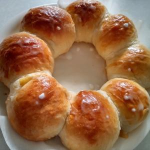 アップルリング(パン)を作ってみました