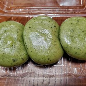 草餅(昨日のデザート)
