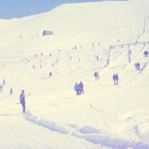 ネタ切れシリーズ?古い海外スキー場の写真とか