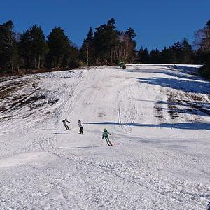 今日の横手山スキー場は…