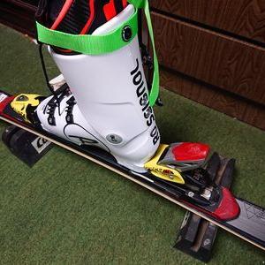 スキーの用具調整