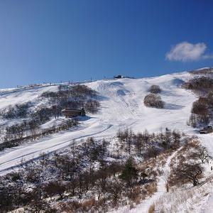 好天の車山へ、そしてスキーの上りも確認しましたが