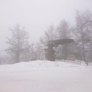 何となくスキー場へ