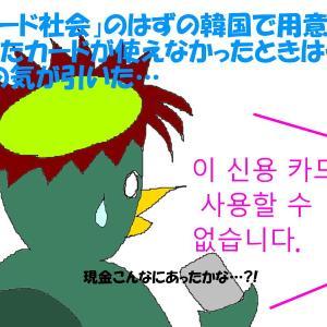 「最悪の日韓関係」の中、韓国の中枢に行く、ただし買い物旅行11-カードが使えない!-(河童亜細亜紀行188)
