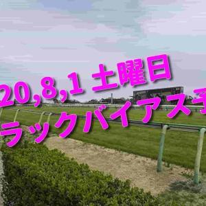 2020,8,1 土曜日 トラックバイアス予想 (新潟競馬場、札幌競馬場)