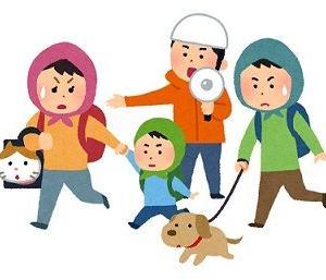 ペットと避難することの不安