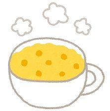 肌寒い時には、温かい簡単コーンスープ
