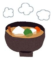 白菜と豚肉の味噌味お雑煮、お正月じゃなくてもいいよね