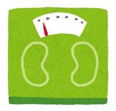 ダイエット開始からマイナス7.5キロ