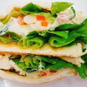 ホクホクのポテトサラダで美味しいサンドイッチ