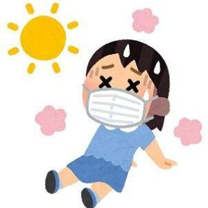 いっきに真夏の暑さでクラクラする