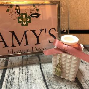 """9/24出店者<26> """"AMY'S〜Flower Deco〜"""" 香りとお花の出会い♪"""