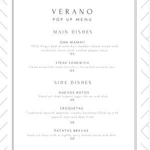 """12/7出店者<35> """"VERANO"""" スペイン人シェフによる本格スペイン料理♪♪"""