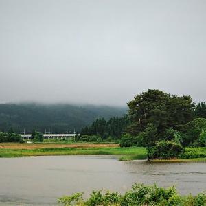 6月16日の弁当 / 蓬田のため池の畔にマイカー停めていただいた