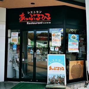 久しぶりにランチ投稿 / 浪岡の道の駅敷地内にある レストラン あっぷるひる