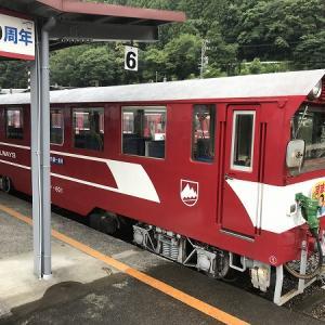 大井川鐡道・千頭駅からはアプト式列車に乗って、井川方面へ。奥大井湖上駅で下車して、湖上駅を堪能する。