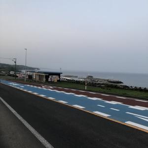 朝の散歩~厚田・浜益編。