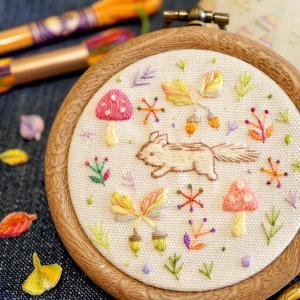 刺繍ワークショップのお知らせ*