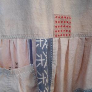 柿渋旗のワンピース〜〜〜♪