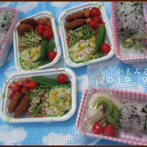 運動会弁当ラスト☆☆、多肉植物植え替えっ