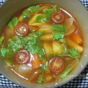 スープ、作りました