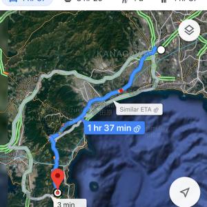 ヒッチハイク 総移動距離1700キロ 神奈川から四国までの旅