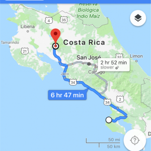 コスタリカ 5〜6日目Santa Elena • Monteverde