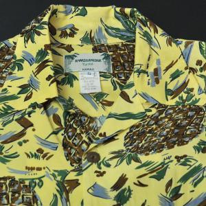 パイナップル イエロー 長袖・Pineapple yellow Long Sleeve