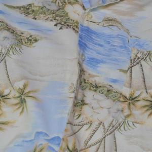 やしの木、ハイビスカス、カジキ・Palm Tree,Hibiscus and Bilfish