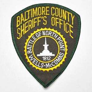 ボルチモア郡 保安官事務所・Baltimore County Sheriff's Office