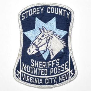 ネバダ州 ヴァージニアシティ ストーリー郡 保安官・Sheriff Storey County Virginia City