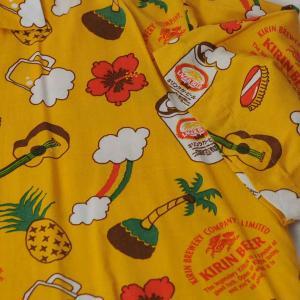 キリンビール 販促用 アロハシャツ・Kirin Beer Aloha shirts for Promotion