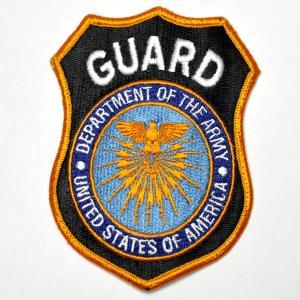 アメリカ陸軍 警備員・Guard Dept. of The Army USA