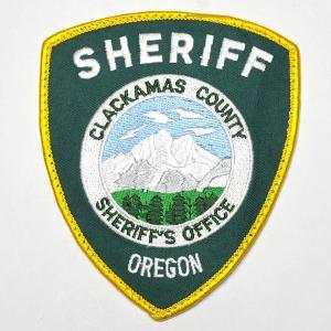 オレゴン州 クラカマス郡 保安官・Sheriff Clackmas County Oregon