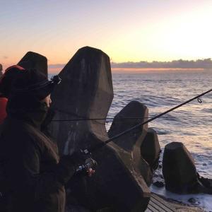 鹿島港:2020年シーバス釣り初め