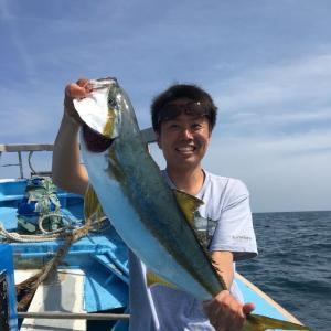 茨城県波崎新港:ヒラマサ68cm 3kg