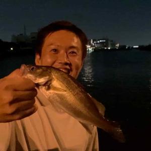 隅田川新神谷橋:ウナギ釣り-2021-