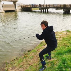 霞ヶ浦水系の名もなき川でブラックバスを狙う