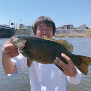 福島県阿武隈川でスモールマウスバスを釣った話