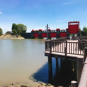 ヌマエビとタウナギを目当てに赤羽駅から旧岩淵水門を目指す