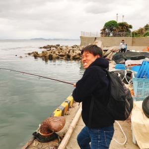 千葉県金谷フェリー港でタコ釣りに挑戦