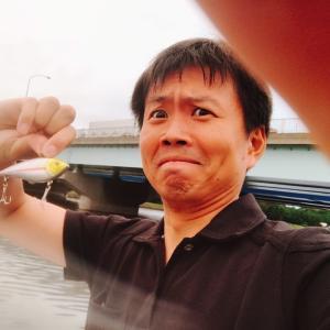 京浜運河大和大橋でシーバスをねらう