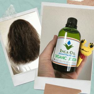 ホホバオイルを爆発系くせ毛の私が使った感想。髪の広がりを落ち着かせる唯一のオイルに出会えた!