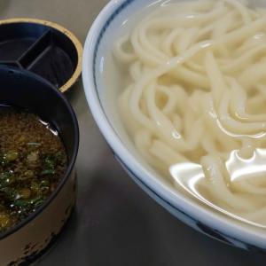 久米池うどん/高松市新田町/讃岐では珍しい平たい麺が食べられる朝から人気のお店