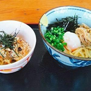 上田うどん店/丸亀市飯山町/店主一押しのぶっかけうどんと○○飯を食べるべし