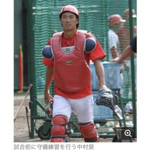 広島・中村奨成4安打に視察佐々岡監督「いい競争」